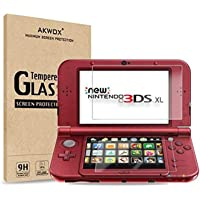 (2 in 1) Tempered Glass Top LCD Screen Protector + HD Clear Crystal PET Buttom LCD Screen Protective Filter for Nintendo…