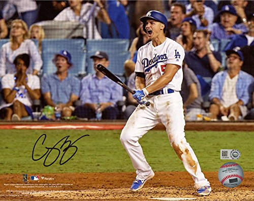 Corey Seager Los Angeles Dodgers Autographed 8