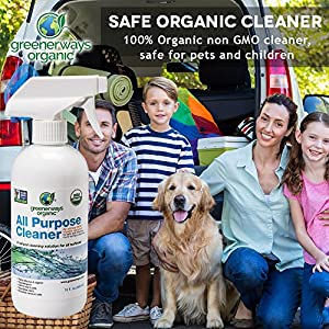 Greenerways Organic All-Purpose Cleaner - safe