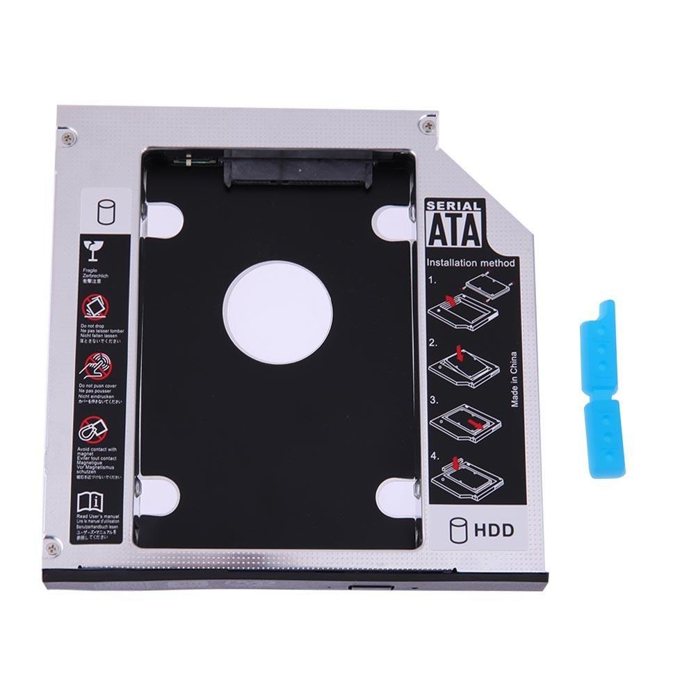 YouN SATA 2nd HDD SSD Hard Drive Caddy for 12.7mm Universal CD/DVD ...