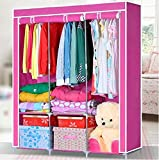 Generic New Portable Bedroom Furniture Clothes Wardrobe Closet Storage Cabinet Armoires