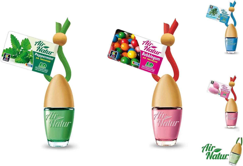 Ld 5 X Air Natur Duftflakontop Mix Testpaket Apfel Bubble Gum Cotton Candy Ocean Pfefferminze Autoduft Lufterfrischer Auto