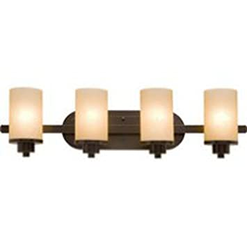 Artcraft Lighting Parkdale 4 Light Bathroom Vanity Light, Oil Rubbed Bronze