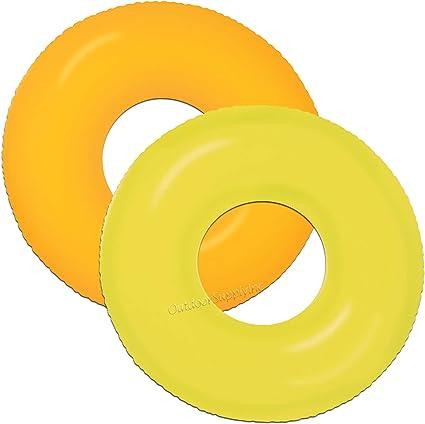 Amazon.com: Tubo inflable resistente para nadar para piscina ...