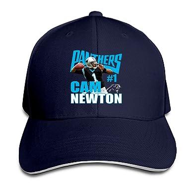NUBIA Cam  1 Newton Sandwich Peak Running Cap Adjustable Cap Navy ... 4637a1efddc