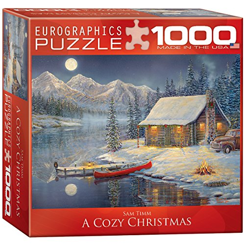 EuroGraphics A Cozy Christmas Puzzle (8000 Jigsaw Puzzle)