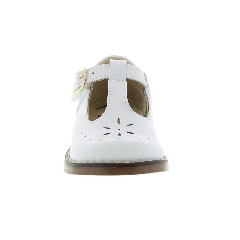 FOOTMATES Sherry (7.5 Toddler M/W, White) by FOOTMATES (Image #4)