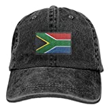 I Love South Africa Unisex Embroidery Cotton Denim Hat Washed Retro Dad Hat
