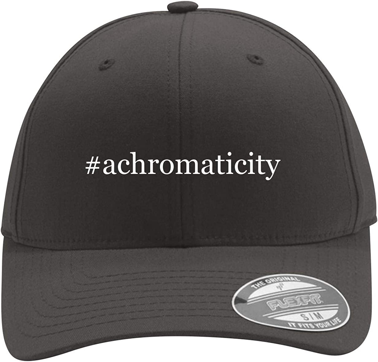 #Achromaticity - Men's Hashtag Flexfit Baseball Cap Hat 61hti3aov6L