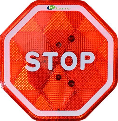 Ekarro Modern Flashing LED Stop Sign Garage Parking