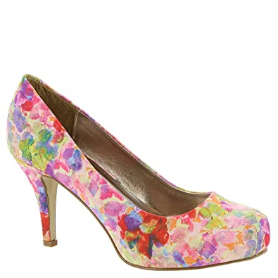 cbd3abd281f Madden Girl Women s Getta Pump Purple Multi 6 B(M) US: Buy Online at ...