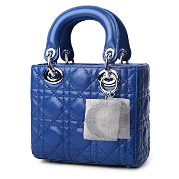 b7a75bb885e Macton®Lambskin Classic Leather Top Handle Handbags Mc-8000 (Mini Size,  Blue)  Amazon.co.uk  Luggage