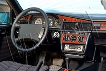 11 Teile Exclusive 3D Ausf/ührung MERIC Cockpit Dekor Farbe: Wurzelholz CD-WU00365