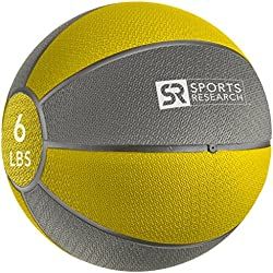 Sports Research Medicine Ball (6lb)   Helps develop core strength & balance