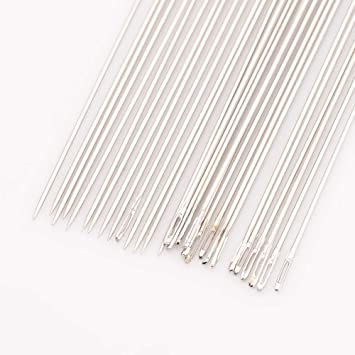 25pcs-30pcs//bag 121mm Long ARRICRAFT 5 Bags Beading Needles Threading String Cord Pins Hand Tools for DIY Jewellry Making