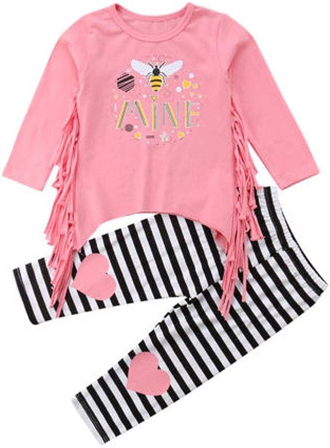 Cute Toddler Kids Baby Girl Twins Long Sleeve Swan Sweatshirt Pullover Tops 0-5T