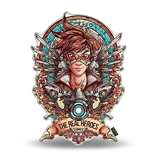 Price comparison product image LiLiPi Overwatch Design Color Decorative Accent Throw Pillow