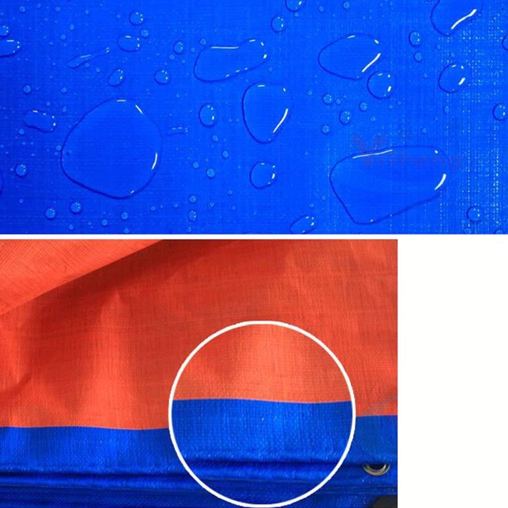 YINUO Dicker Plane Plane Plane Sonnenschutz Sonnenschutz Regenschutz Kunststoff Farbe Streifen Windschutzscheibe Warengüter Dreiräder Wasserdicht Stoff Kreppstoff Canvas Plane B07MFH3KHK Zeltplanen Verschleißfest c16c70