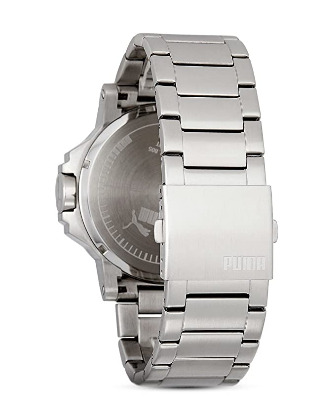 Amazon.com: Puma PU103461003 Motorsport Black Metal Ultrasize 3HD Watch: Watches