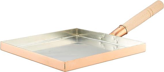 Endo Tamagoyaki Padella Quadrata in Rame 15 cm