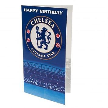Chelsea FC Oficial de fútbol regalo - Tarjeta de cumpleaños ...