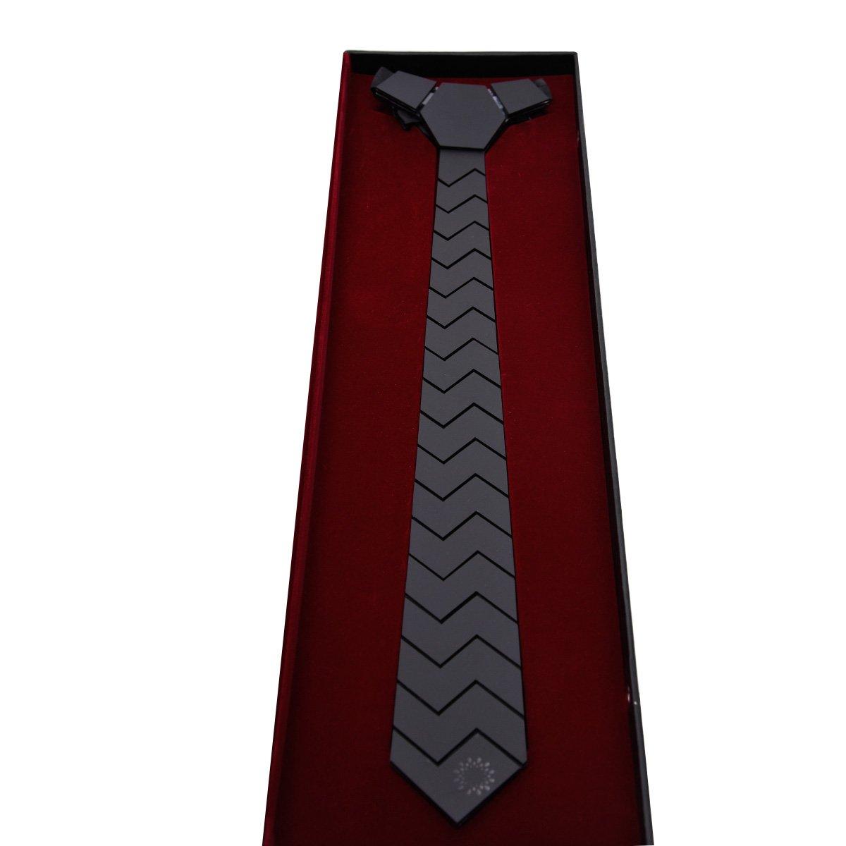 Matte Black Grand Slant Tech Tie