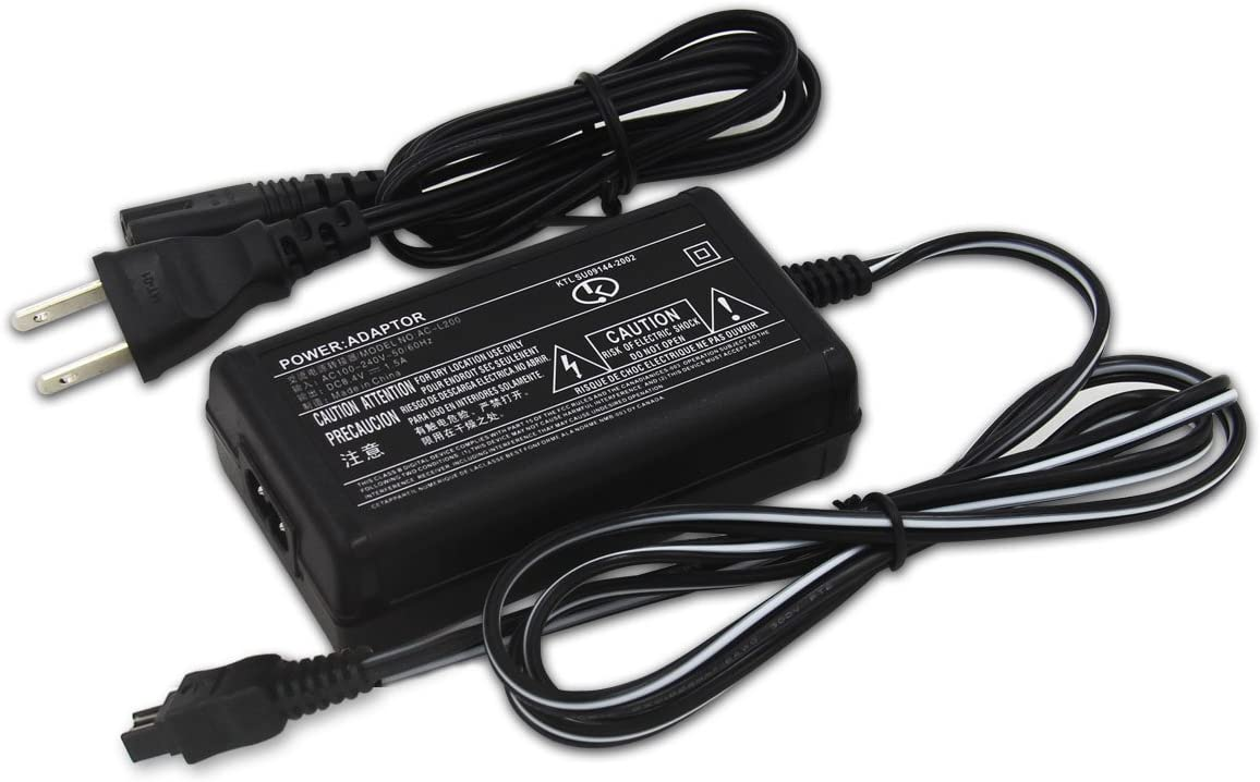 Taelectric AC Wall Battery Power Charger Adapter Compatible Sony DCR-HC43E DCRHC43E HC43E Handycam