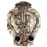 SITKA Men's Hudson Waterproof Insulated Hunting Jacket, Optifade Waterfowl, Large