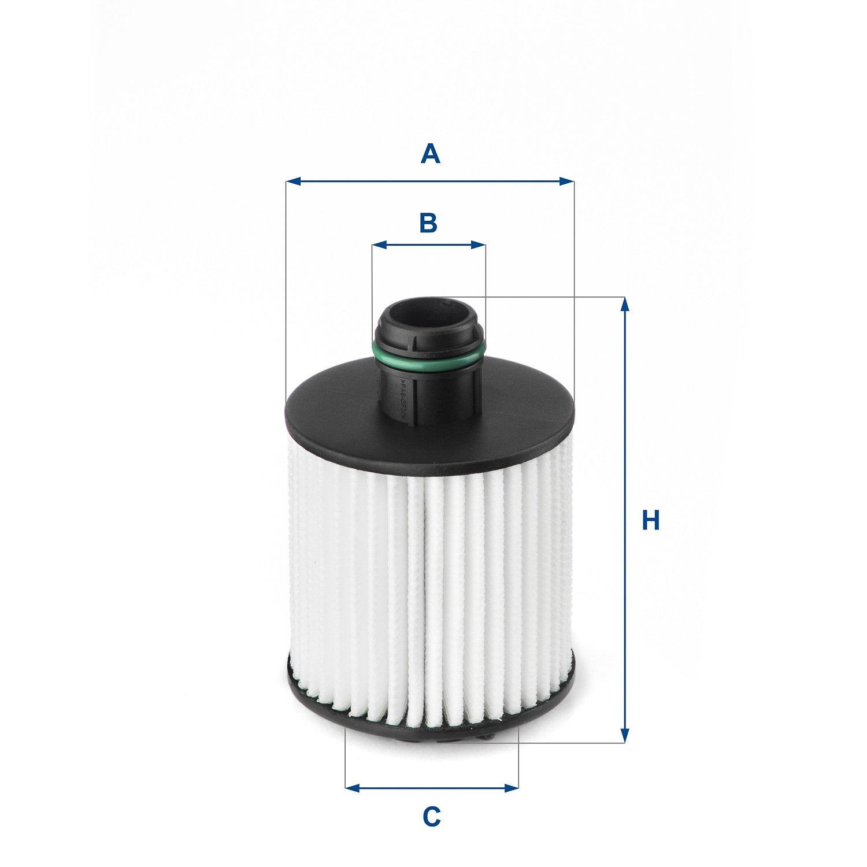 Ufi Filters 30.297.00 Filtro De Aire