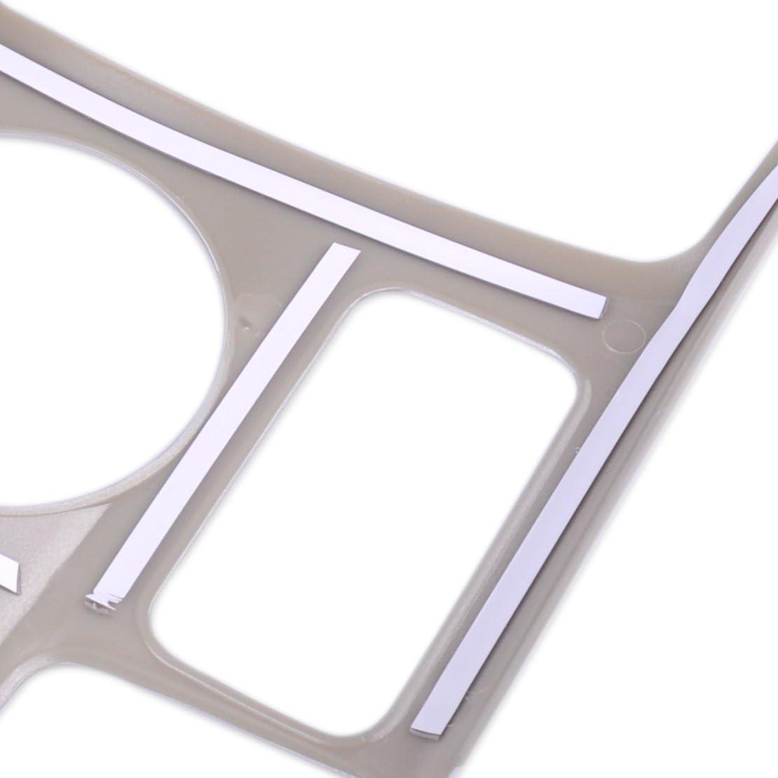 beler Chrom Auto Innen Becherhalter Tasse Halter Abdeckung Rahmen Dekoration