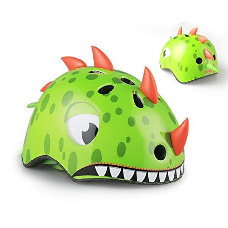 LOLIVEVE Bicycle Helmets Childrens Cartoon Riding Roller ...