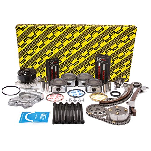 Evergreen OK2024LGM/0/0/0 00-08 Toyota Chevrolet VVT-i 1.8L DOHC 16V 1ZZFE Master Overhaul Engine Rebuild Kit (w/ VVTi Gear)