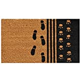 Home & More 120861729 Man's Best Friend Doormat, 17'' x 29'' x 0.60'', Multicolor
