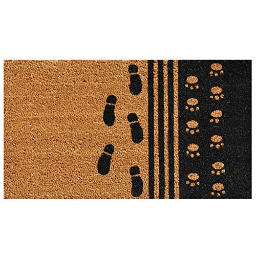 Home & More 120861729 Man's Best Friend Doormat, 17
