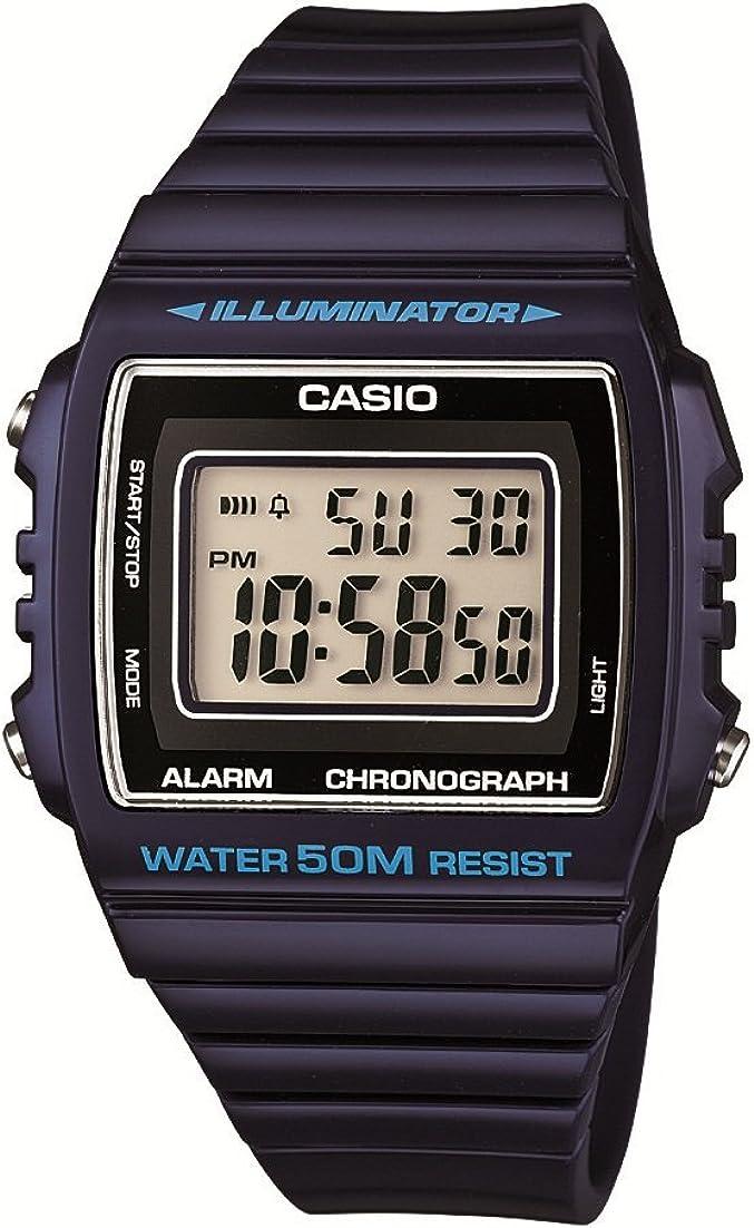 Casio Reloj para Unisex de W-215H-2AVEF