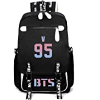 Bts Bulletproof Youth Group Bag High School Students Large-capacity Backpack Canvas Bag Multi-layer Storage Backpack (style-5)