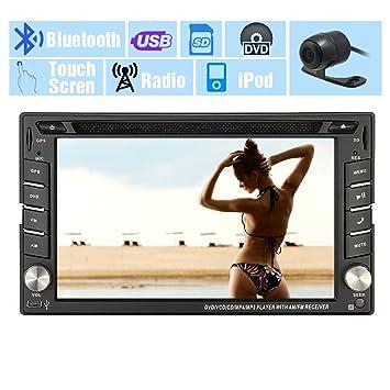 GPS Sat Coches Reproductor de DVD de Radio Auto Unidad Principal En la Cubierta del Video