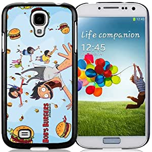 Beautiful And Unique Designed Case For Samsung Galaxy S4 I9500 i337 M919 i545 r970 l720 With Bob's Burgers 1 Black Phone Case