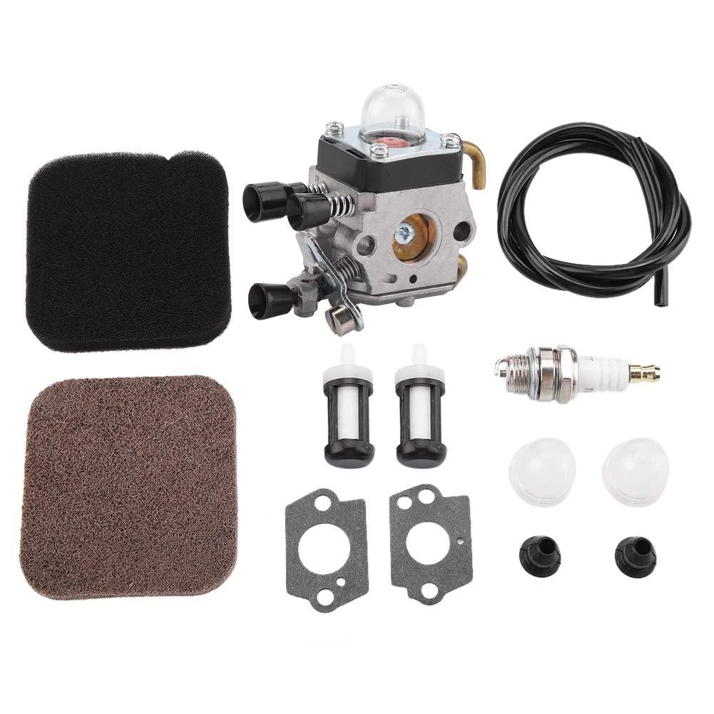 Garosa Cortacésped Cortacésped y Filtro De Aire Kits De Carburador Recortador De Hierba para Stihl FS80R FS85R KM85 HS75 FS74 FS76 HT75 C1Q-S157