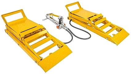 Hydraulic Car Lift >> Jegs 79004 Hydraulic Car Lift Ramps Capacity 3000 Lb Pair