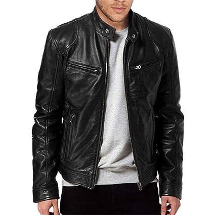 acheter populaire 1ae44 582ed style_dress Veste Cuir Homme Noir, T Shirt, Habit Homme Pas ...