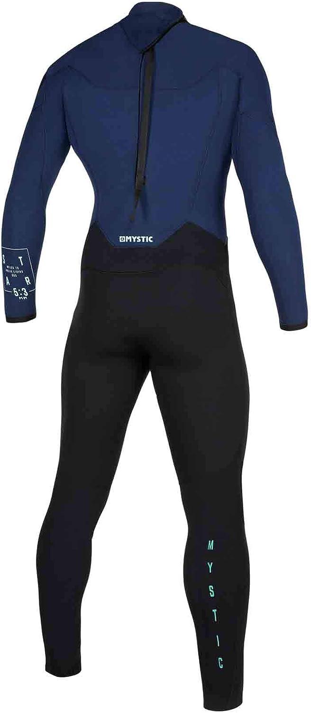Star 5//3mm mit Navy Back Zip Wetsuit thermische warme W/ärme legere Navy Mystic Wassersport Surf Kitesurf /& Windsurfen Herren