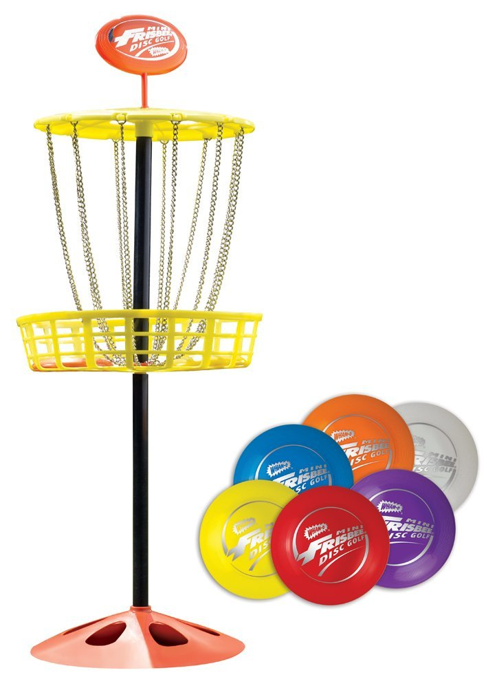 Wham-O Mini Frisbee Golf Disc Indoor and Outdoor Toy Set by Wham-O