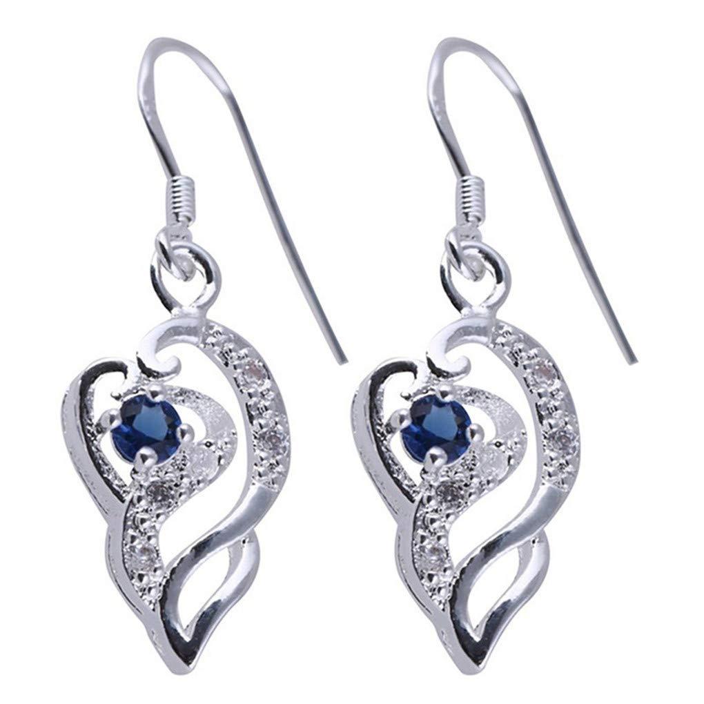 Meolin Exquisitely Elongated Zircon Earrings Modern Beautiful Earrings Jewelry for Women Girl Christmas Birthday Anniversaries Present