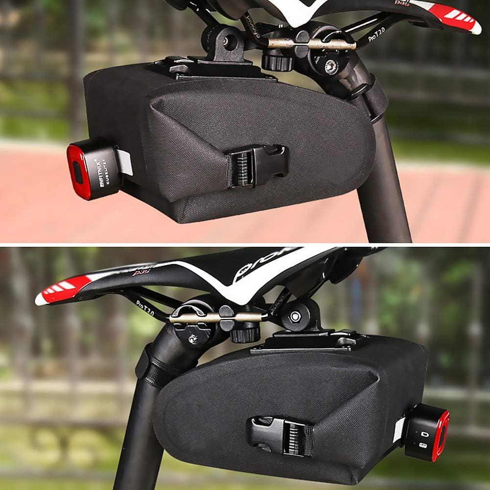 WASAGA Borsa da Sella per Bici 0.8L//1.2L Borsa da Viaggio Impermeabile per Borse da Viaggio per Borse da Vici Borsa da Ciclismo Professionale per MTB Bici da Strada o Bici da Citt/à