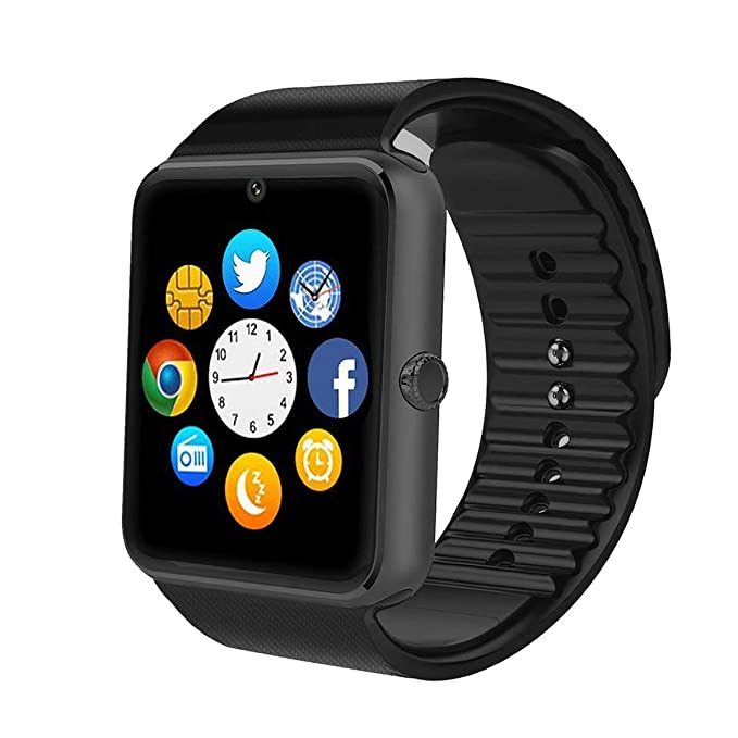 TagoBee TB04 Smart Watch, Bluetooth Smartwatch with Camera SIM SD Memory  Card Slot Touch Screen Wirst Watch Compatible for Android Phones iPhone