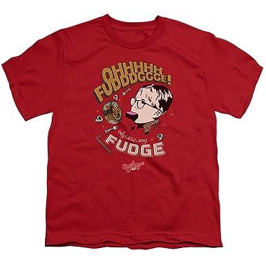 Christmas Story T Shirts.A E Designs Kids A Christmas Story T Shirt Oh Fudge Youth Shirt