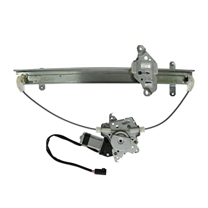 Power 1995-1999 For Nissan Maxima Front Window Regulator LH With Motor