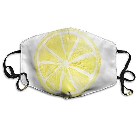 Unisex Lemon Icon Logo Fruit Food Mouth Face Masks For Mens Womens ... 16ae02aa4b
