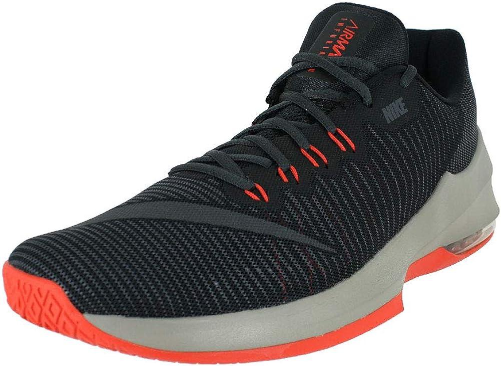 Nike Mens AIR MAX Infuriate 2 Low Black